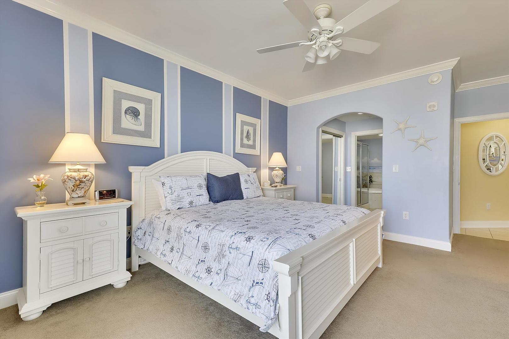 Belmont Towers 511 - Master Bedroom