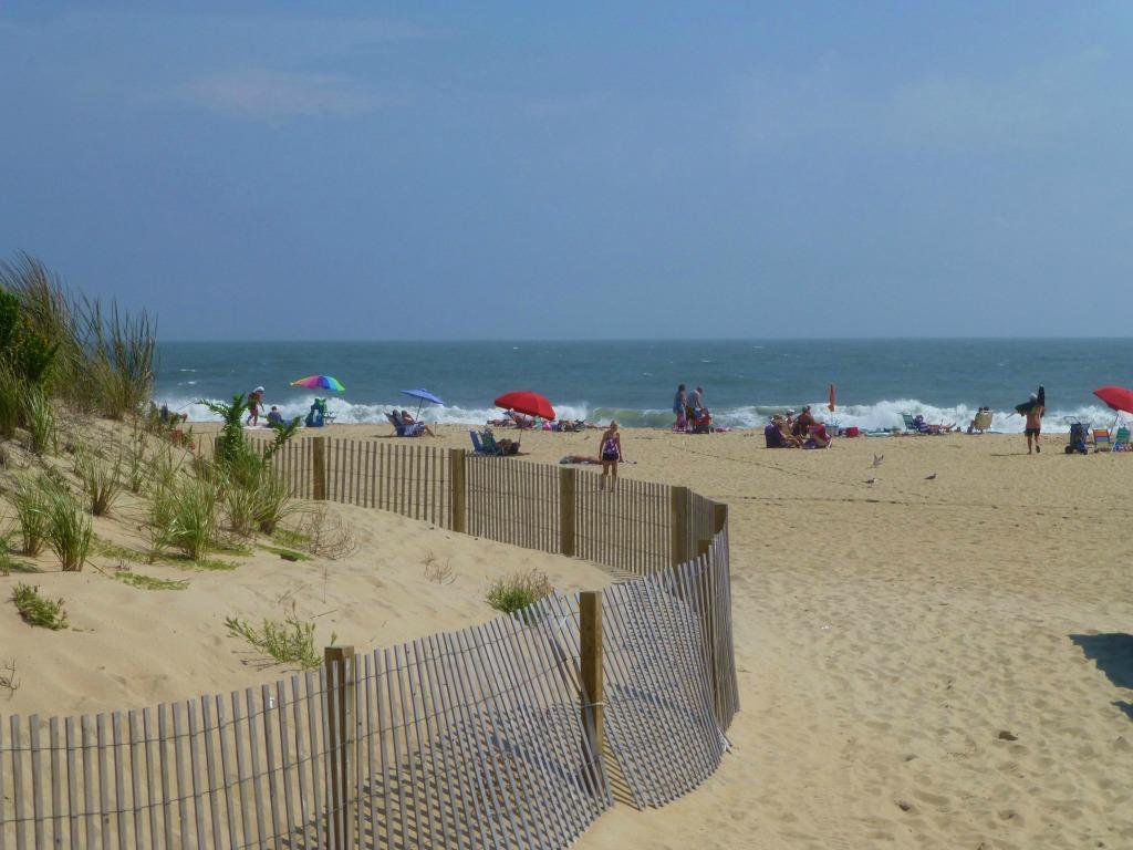 Ocean City Beach (4 blocks away)