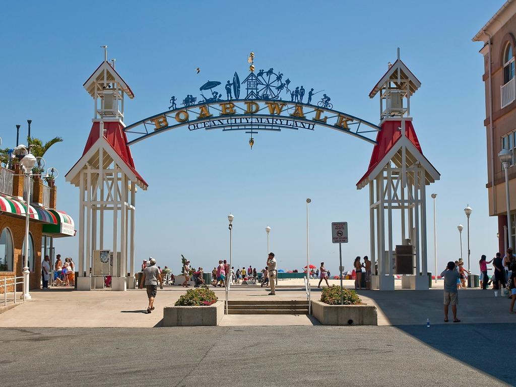 Ocean City Boardwalk (4 blocks away)