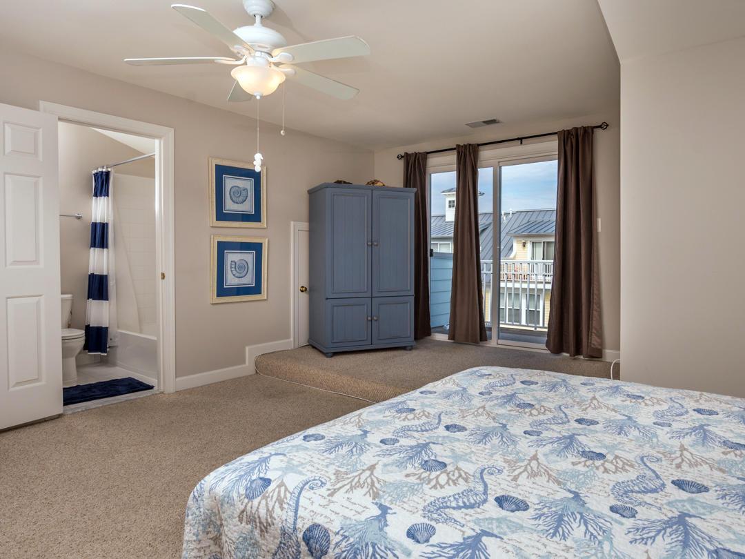 Sunset Island, 40 Canal Walk Lane - Top Floor Bedroom