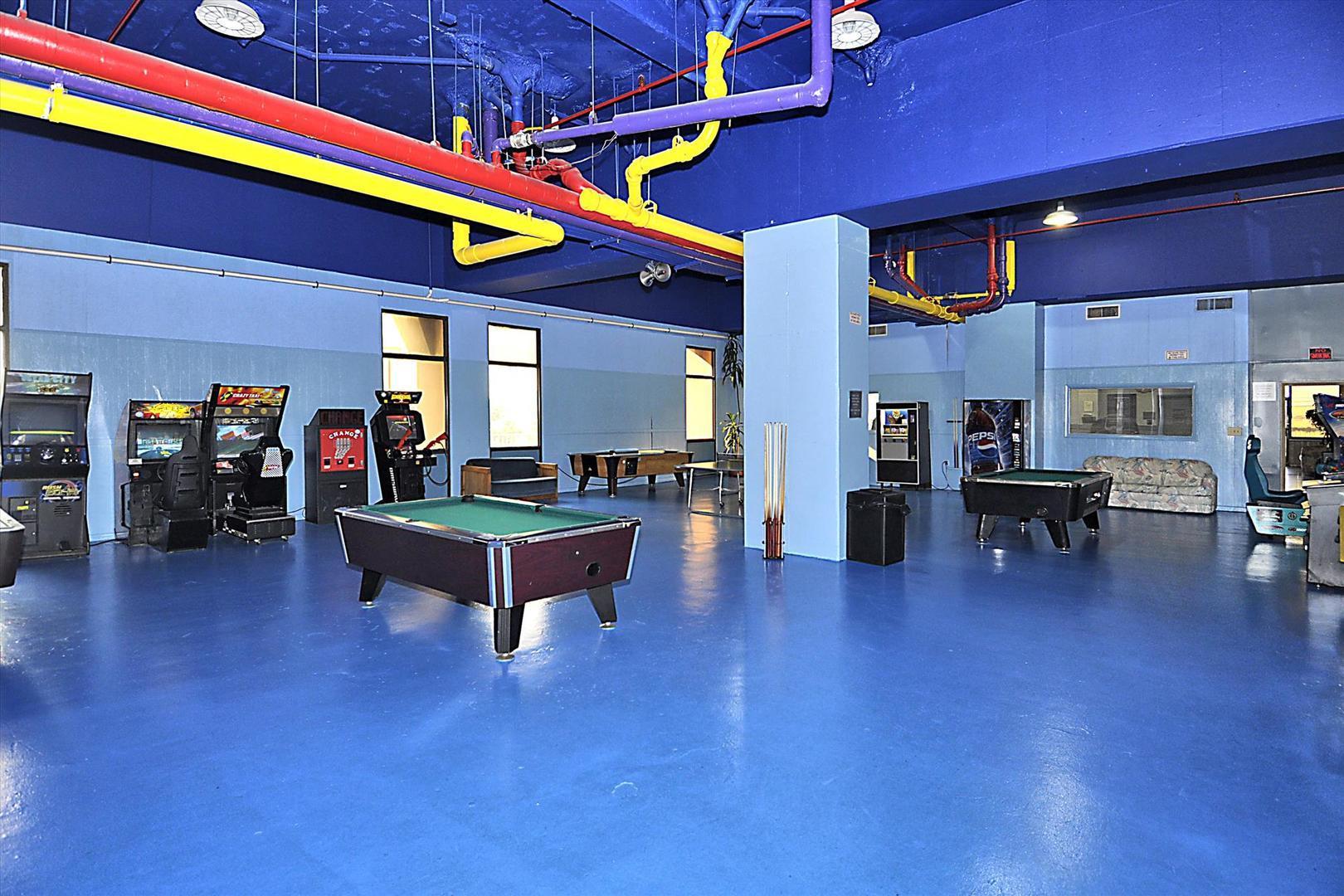 Capri - Game Room Area