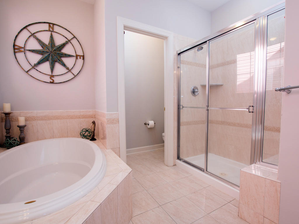 Sunset Island, 6 Shore Point Drive - Master Bathroom