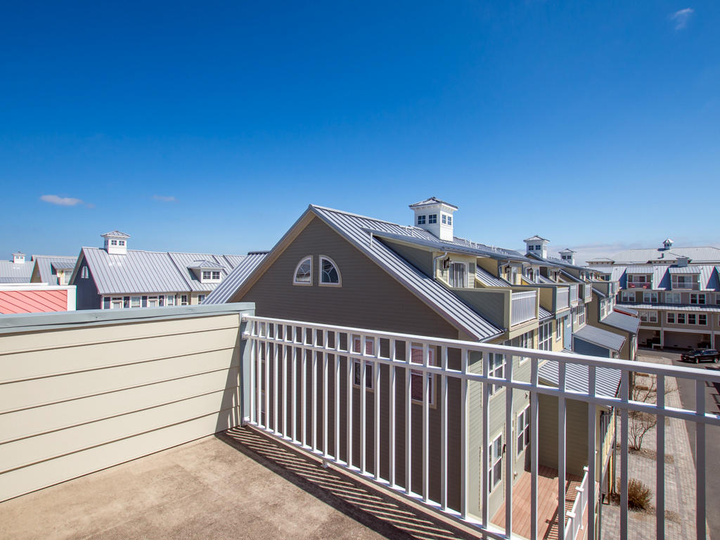 Sunset Island, 6 Shore Point Drive - Top Level Balcony