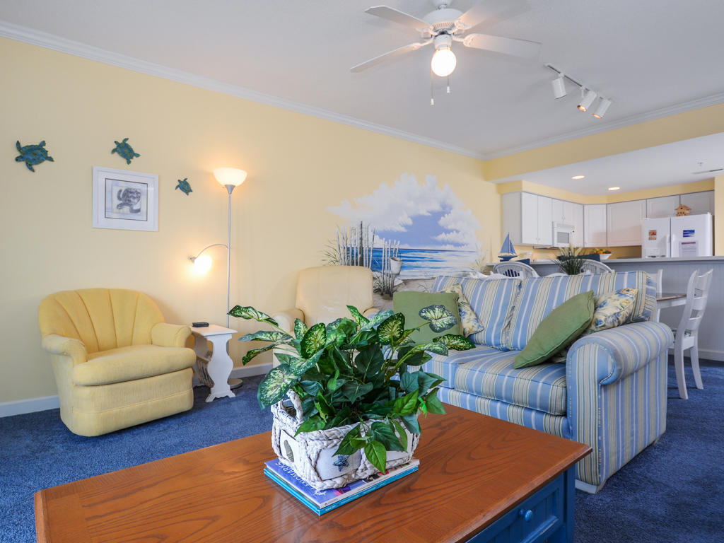 Island Cabana, 303 - Living Room
