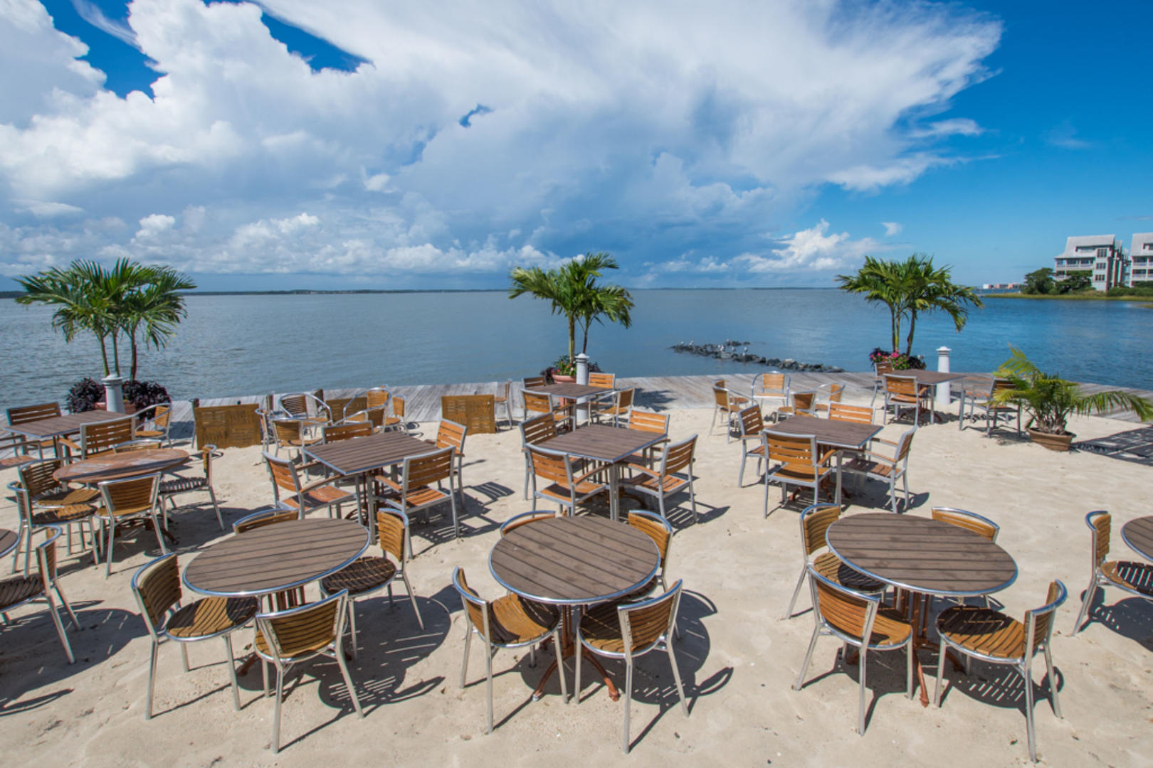 Sunset Island On-Site Restaurant