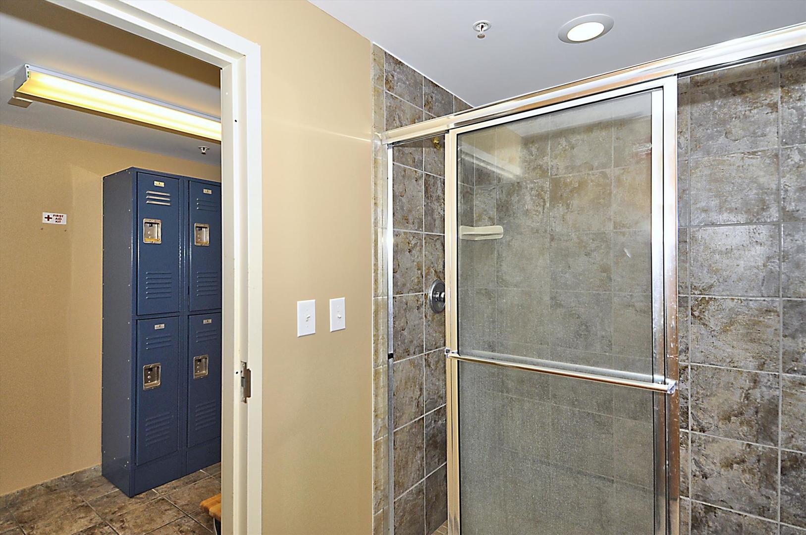 Belmont Towers Locker Room