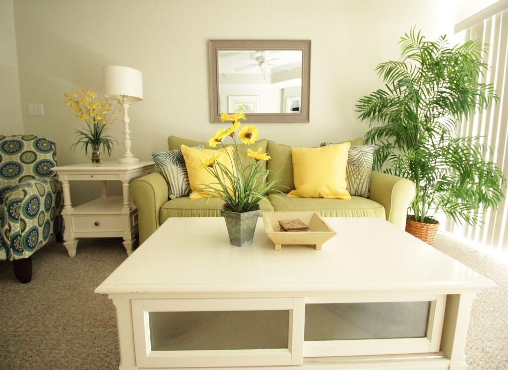 Sunset Beach, 107 - Living Room