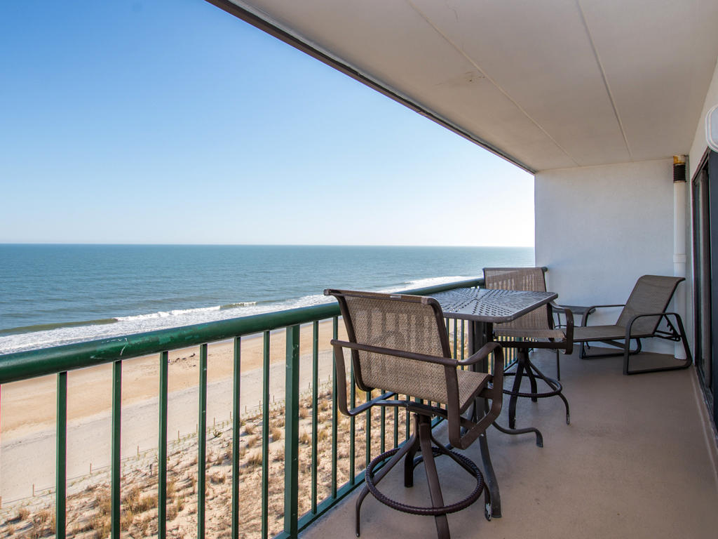 Summer Beach 802 - Balcony & Ocean View
