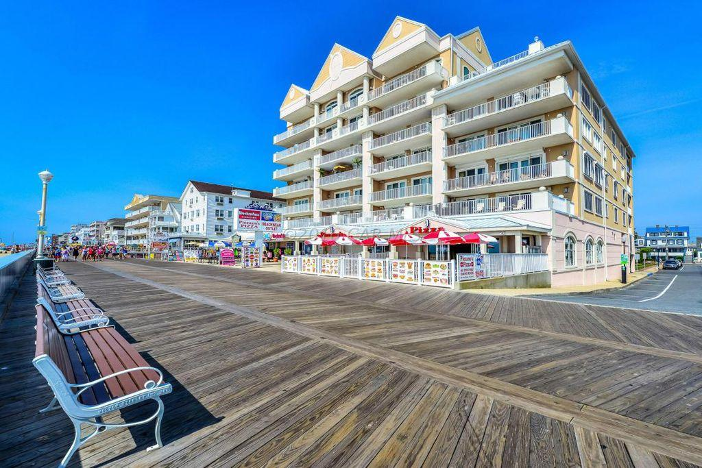 South Beach Exterior on Ocean City Boardwalk