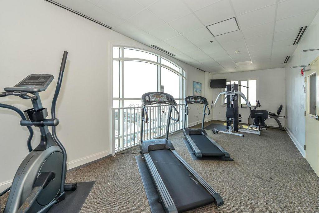 South Beach Fitness Room