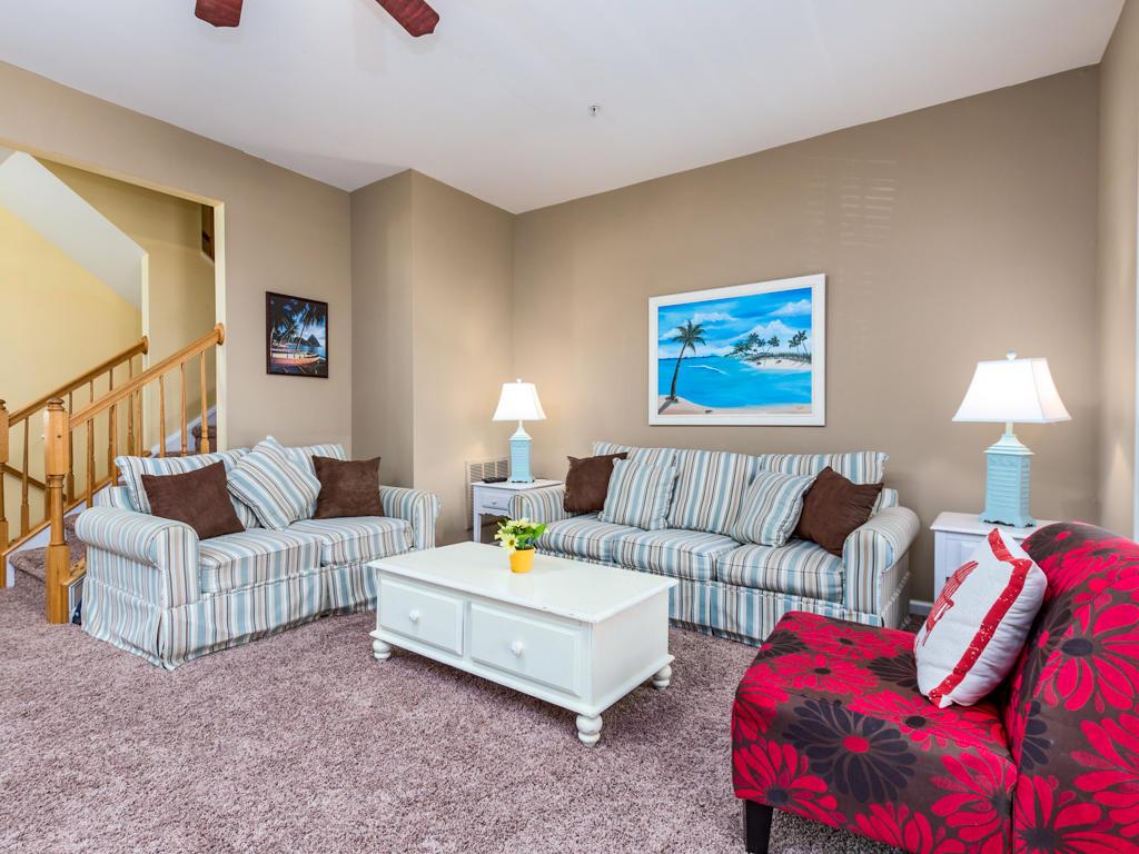 Sunset Island, 22 Island Edge Drive - Living Room