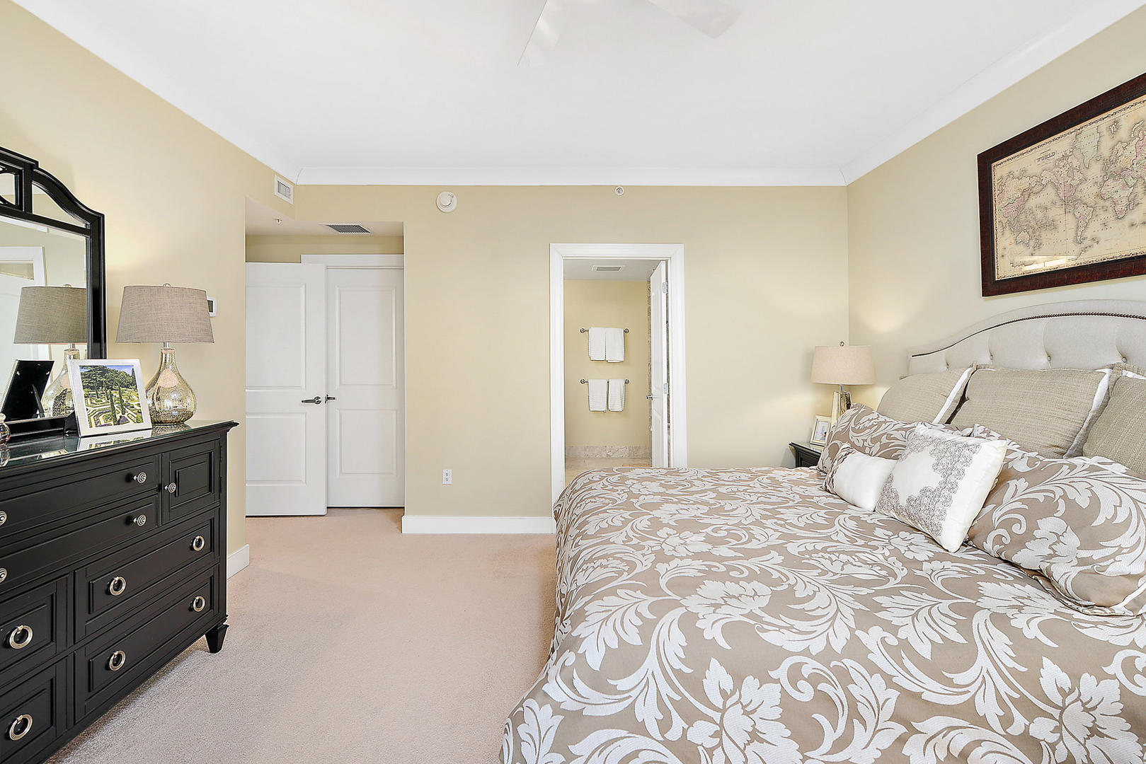 Gateway Grand 213 - Master Bedroom with Side Balcony