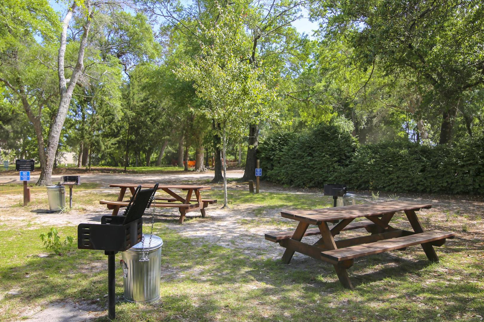 Ocean Creek Picnic and Grilling Area
