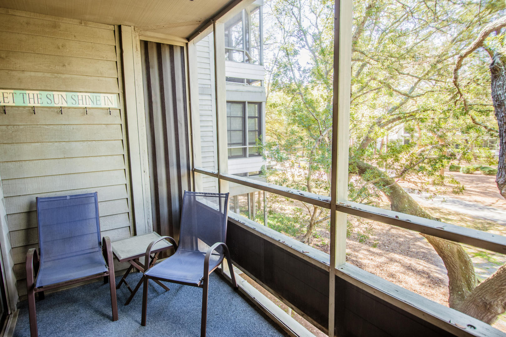 Ocean Creek L2225 - Screened Porch with Woodland Views