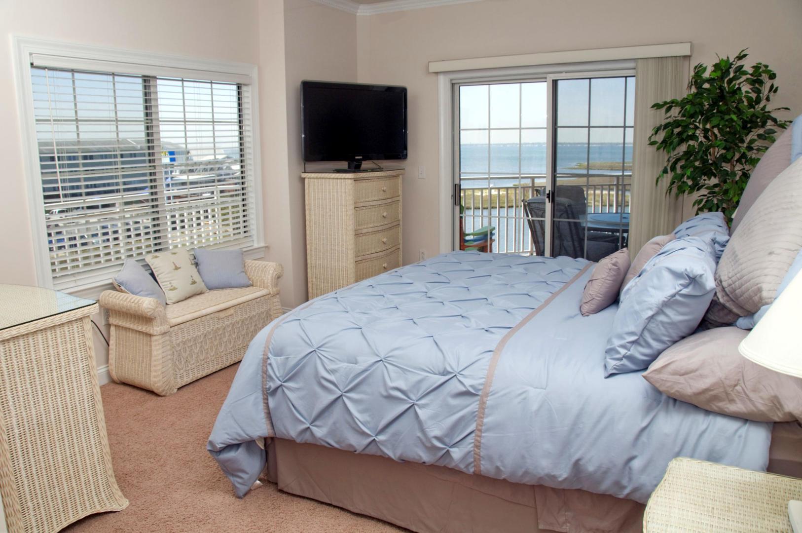 Sunset Bay I 301 - Master Bedroom