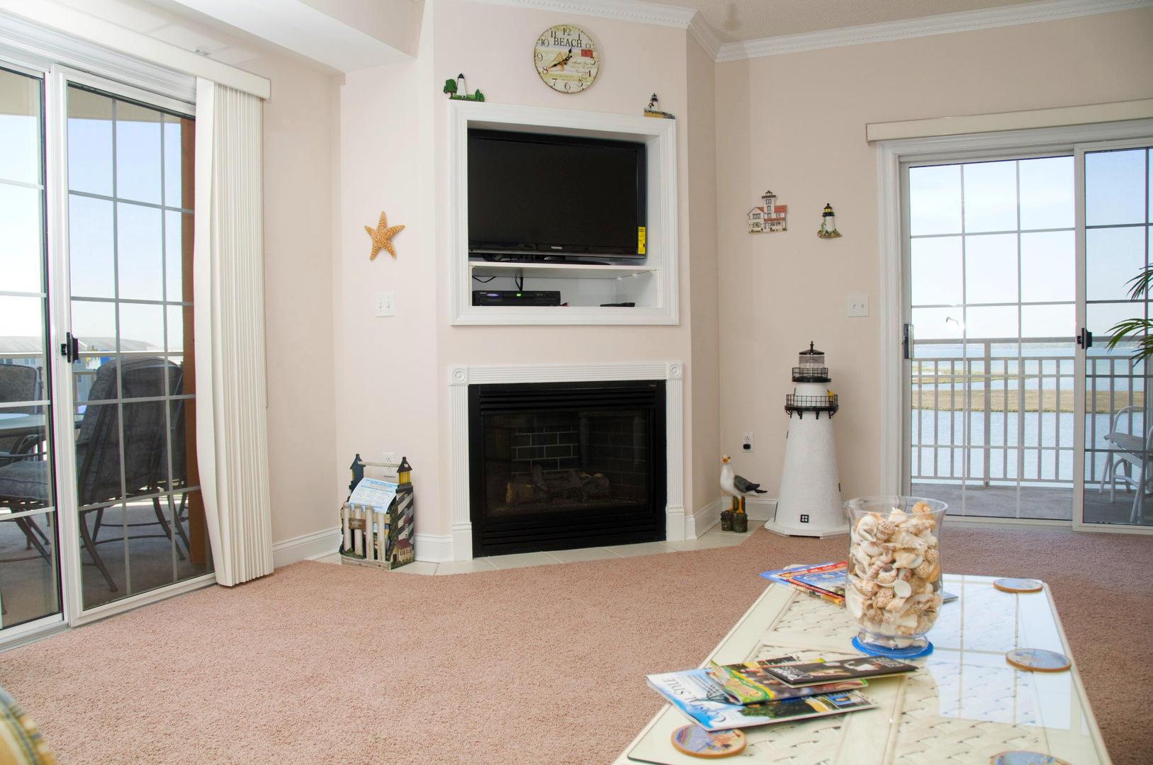 Sunset Bay I 301 - Living Room