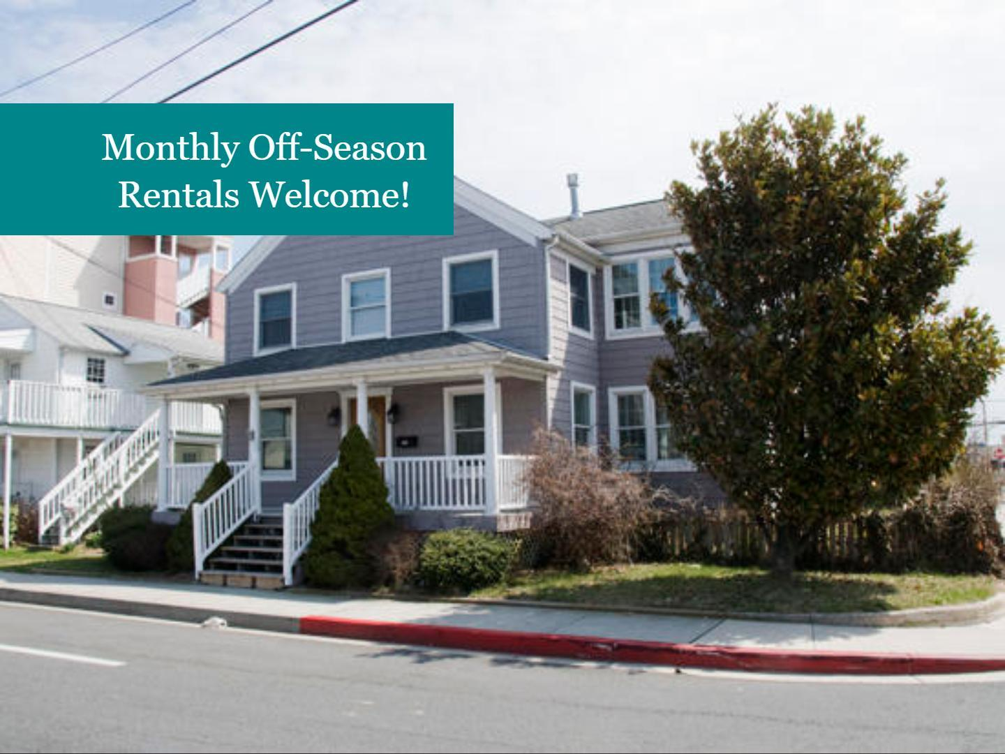 Monthly Winter Rentals Available