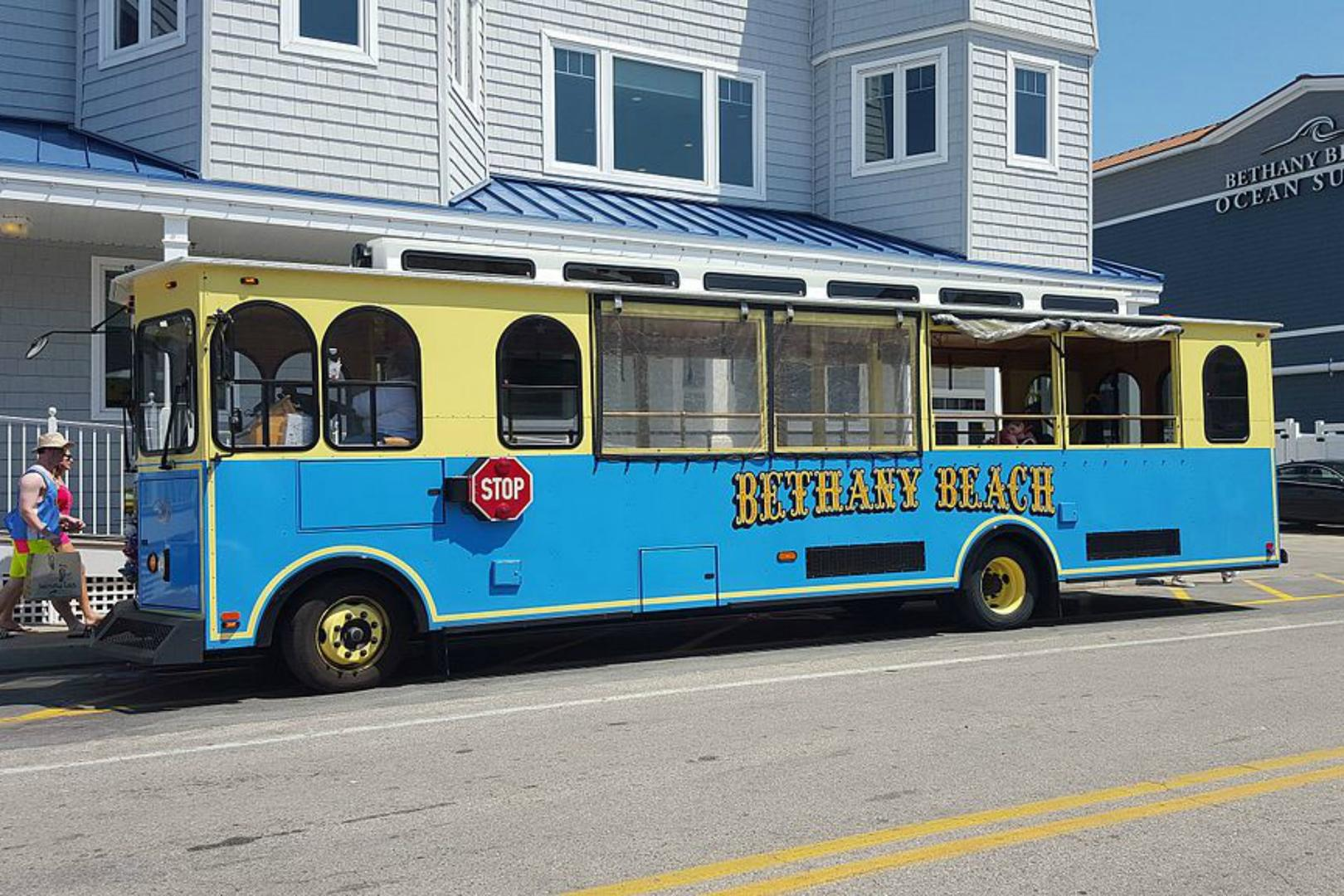 Bethany Beach Trolley (fee associated)