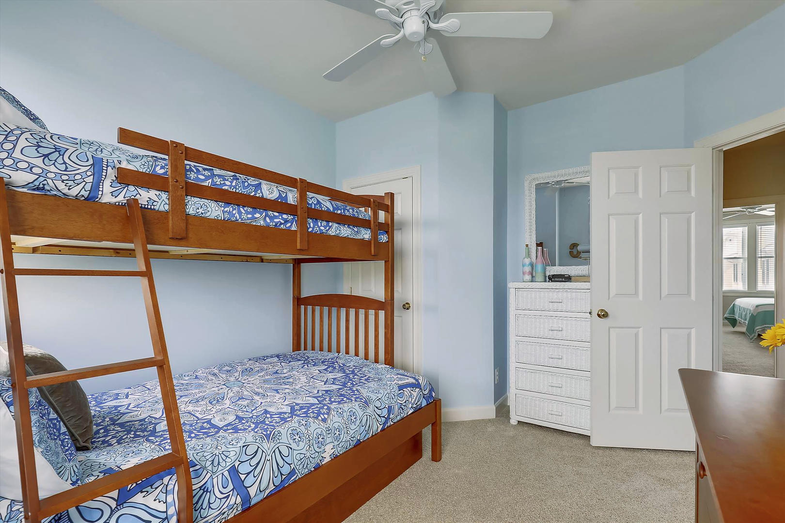 Sunset Island 17 Fountain Dr. W - First Bunk Bed Room on 3rd Floor
