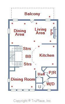 2nd Level Floor Plan - 28 Seaside Dr.