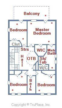 3rd Level Floor Plan - 28 Seaside Dr.