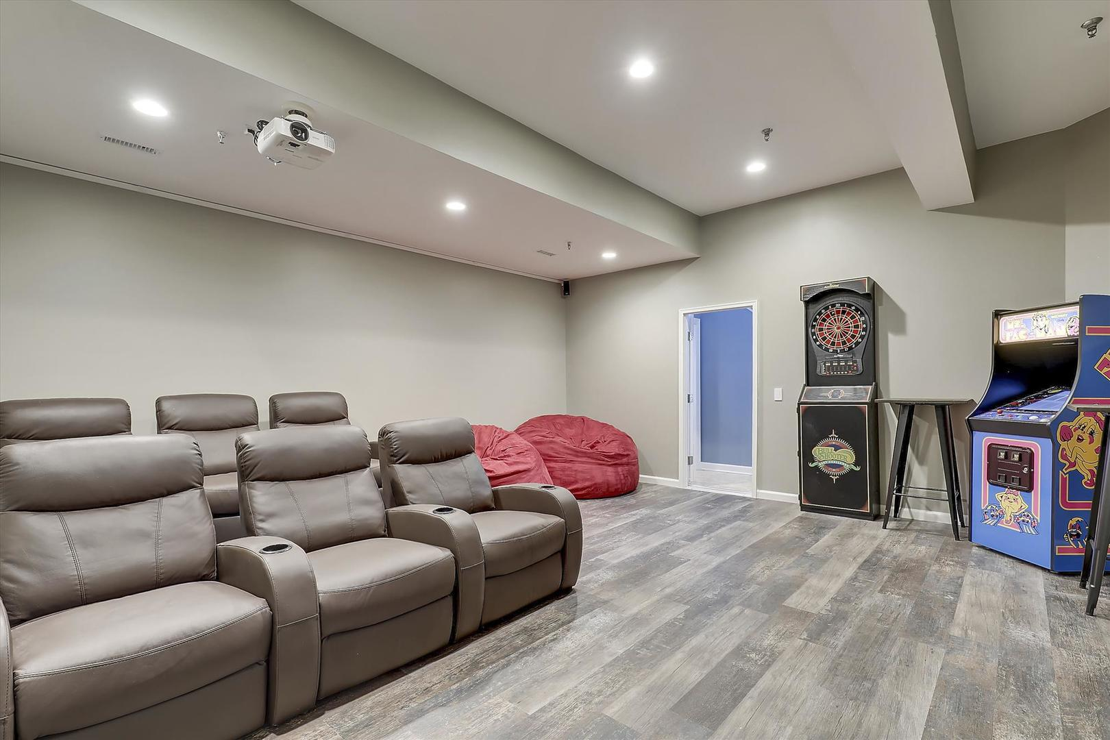 28 Seaside Dr. - First Floor Game Room & Home Theater
