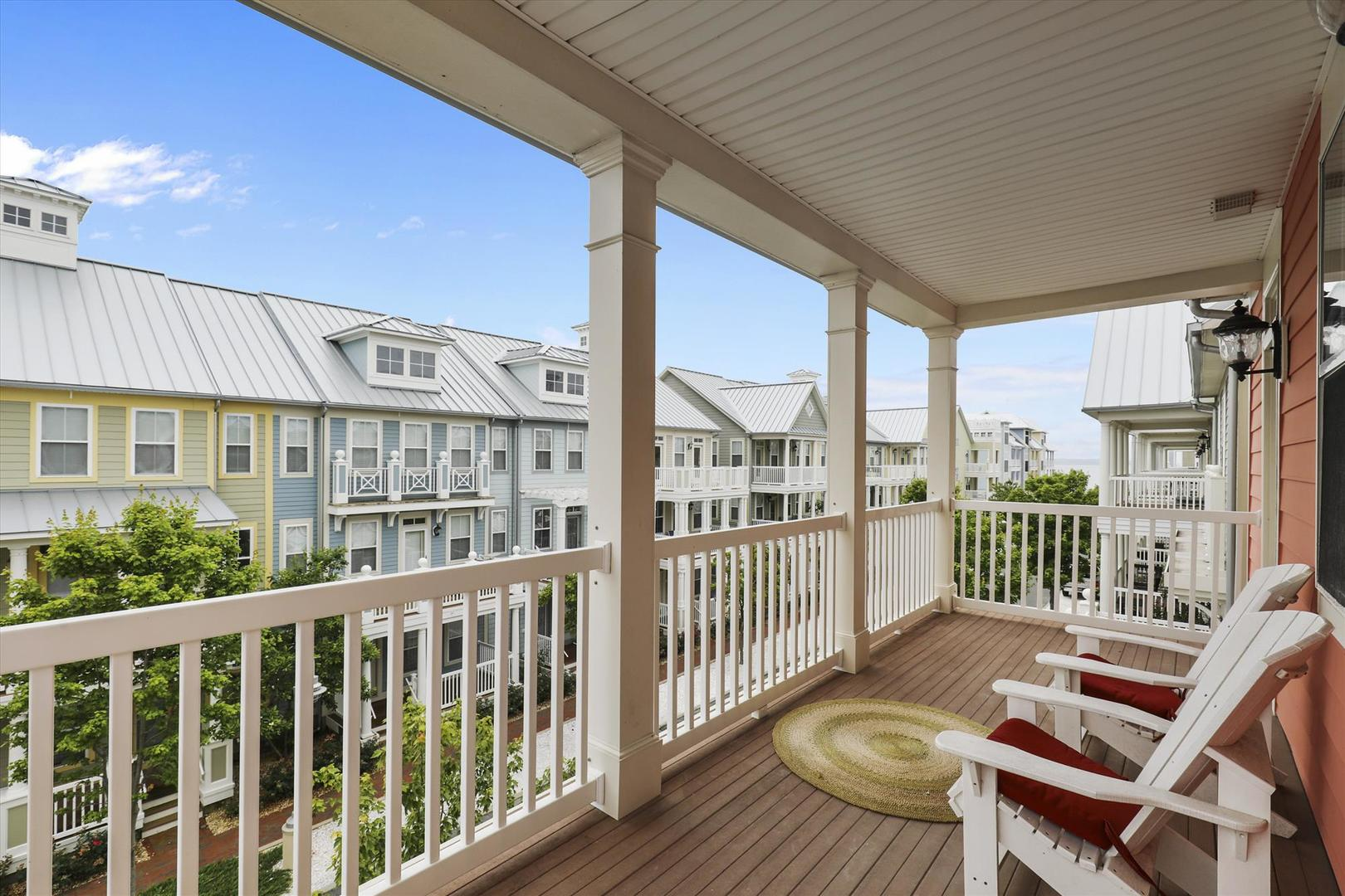 28 Seaside Dr. - Third Floor Balcony