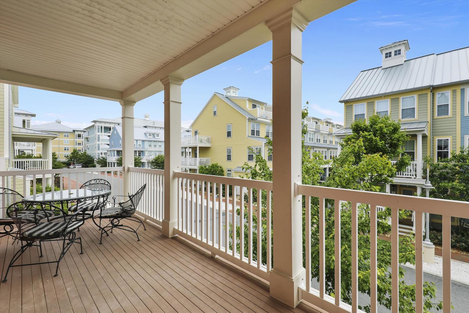 28 Seaside Dr. - Second Floor Balcony