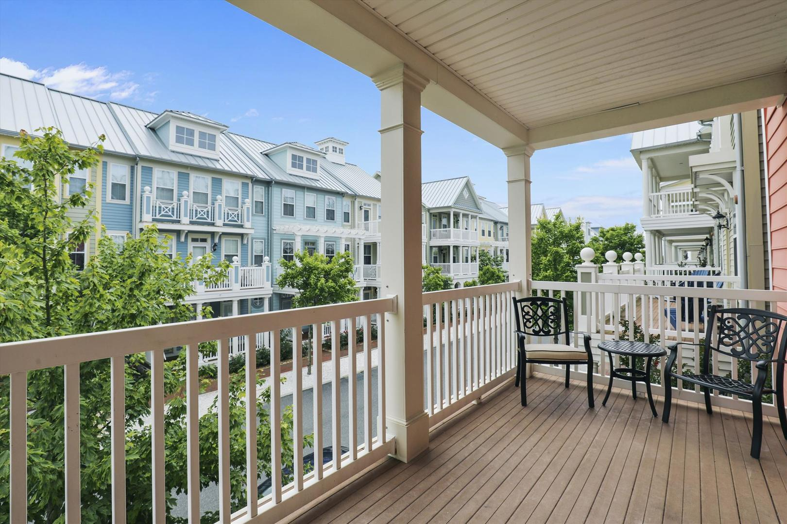 28 Seaside Dr. - Second Floor Balcony
