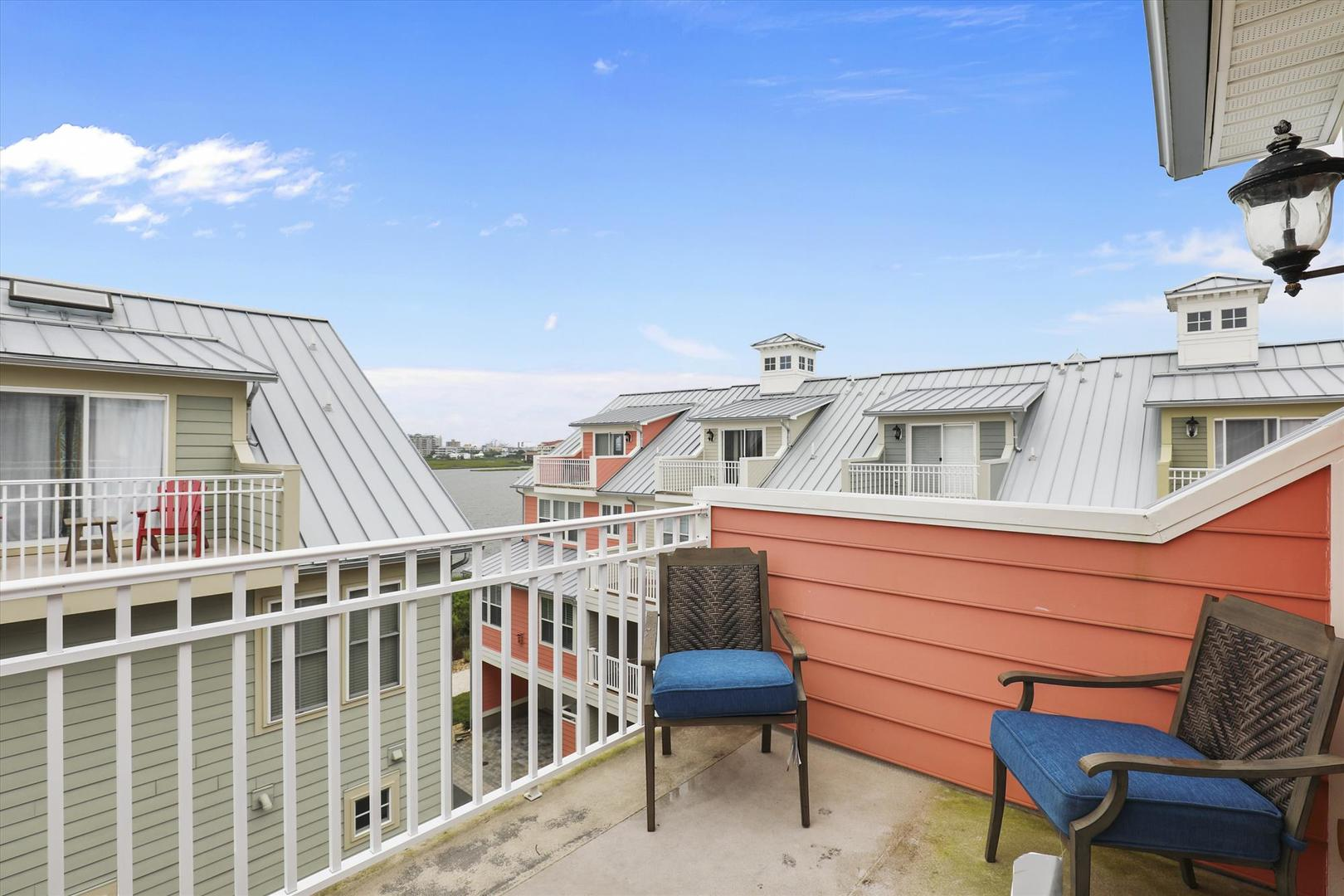 28 Seaside Dr. - Fourth Floor Balcony