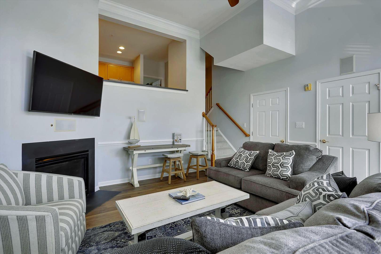 Bayside at Bethany Lakes - Living Room
