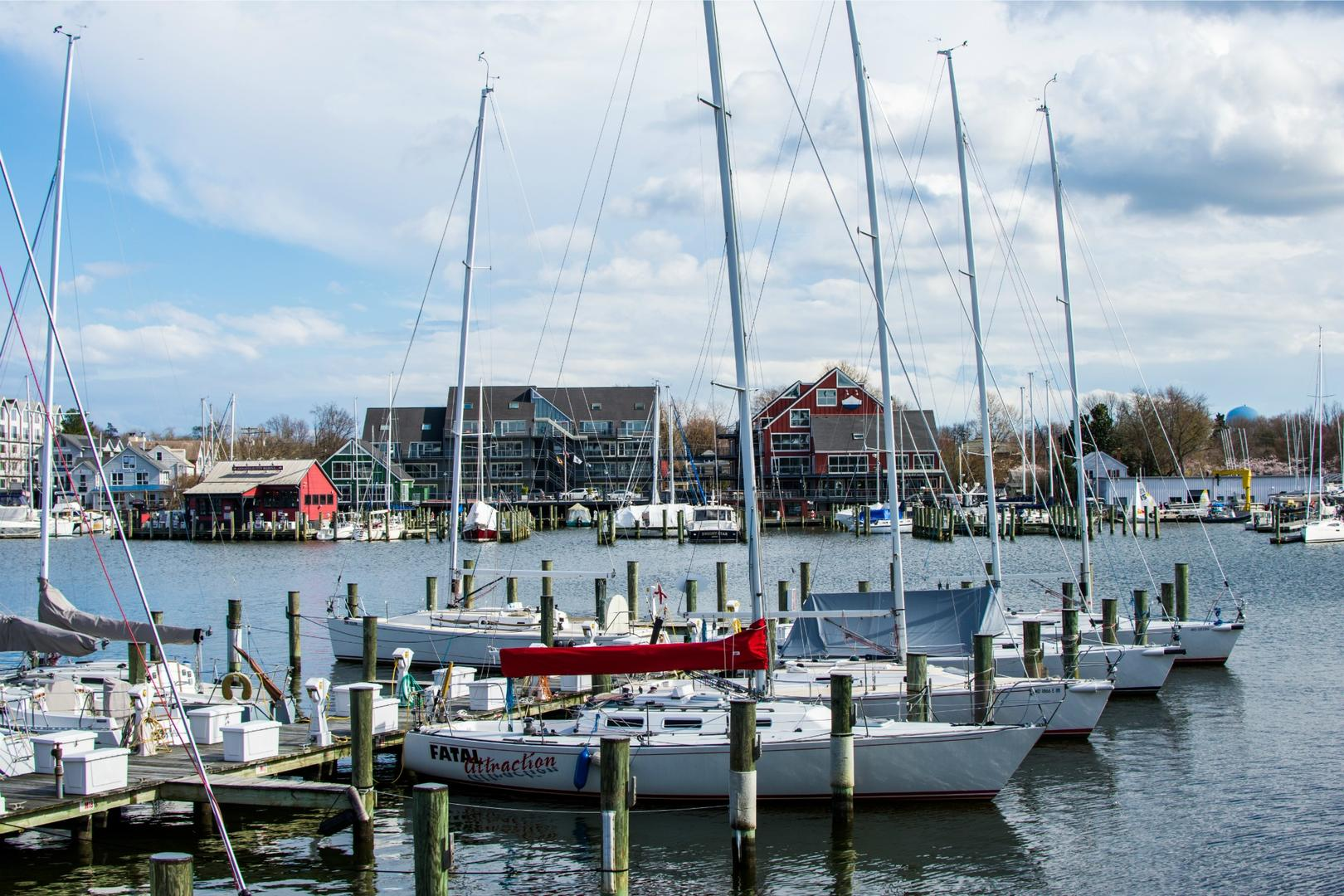 Nearby Annapolis Harbor