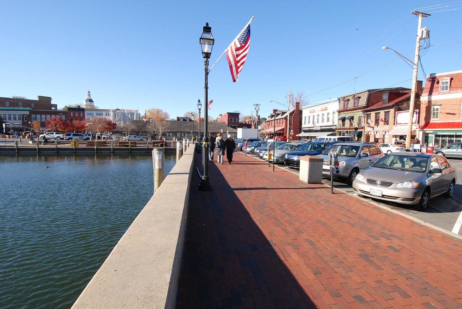 Annapolis Waterfront Shops and Restaurants