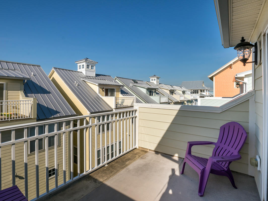 Sunset Island, 6 Seaside Drive - Balcony