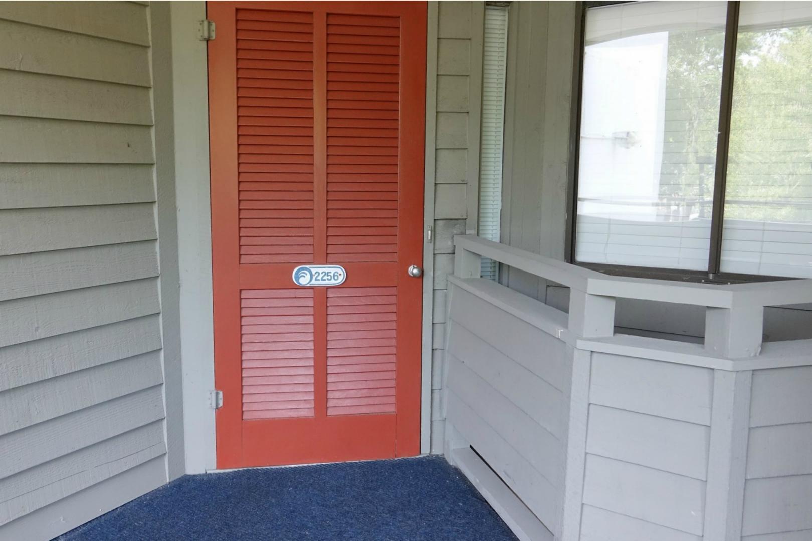 Ocean Creek L2256 - Front Door