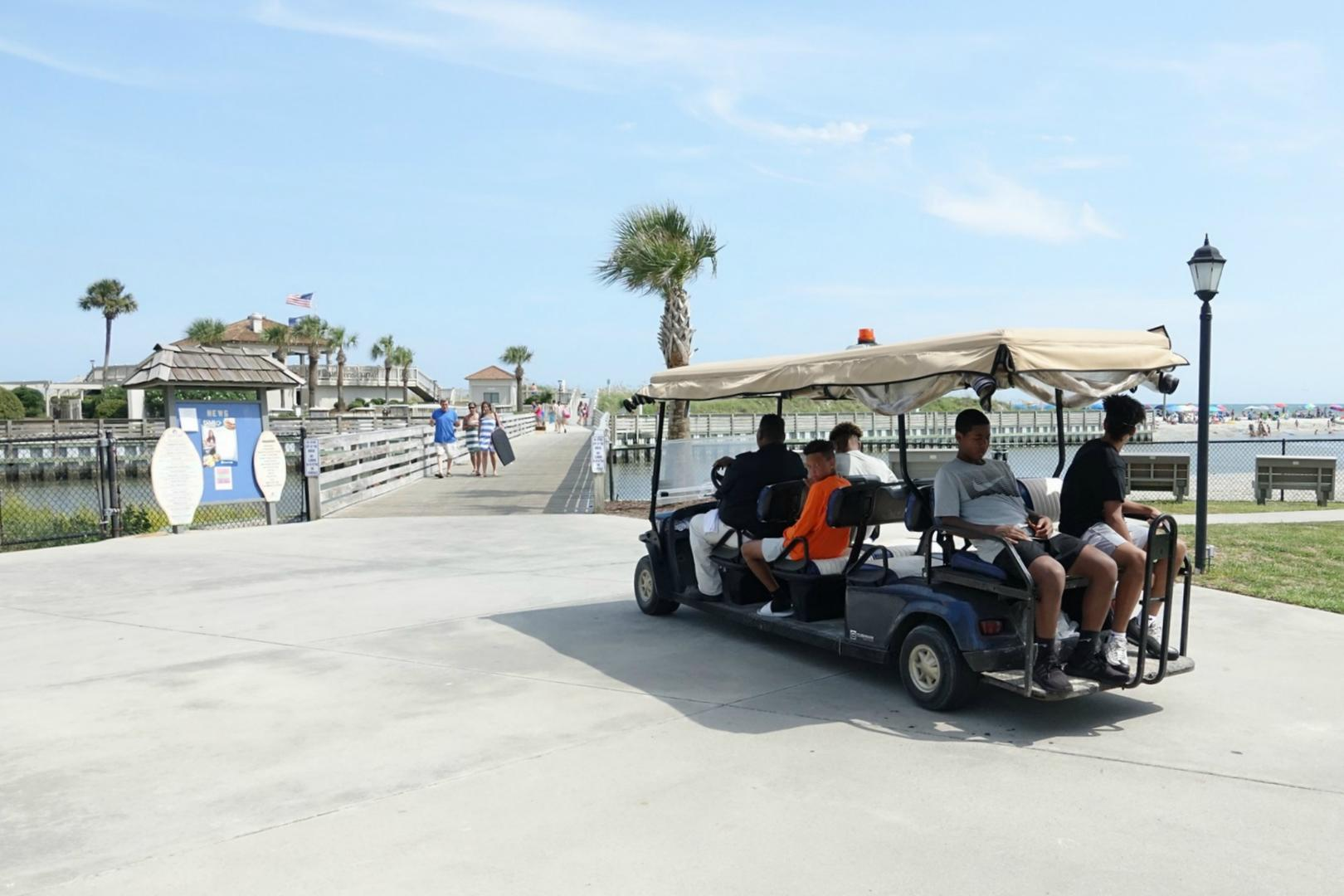 Ocean Creek Beach Shuttle