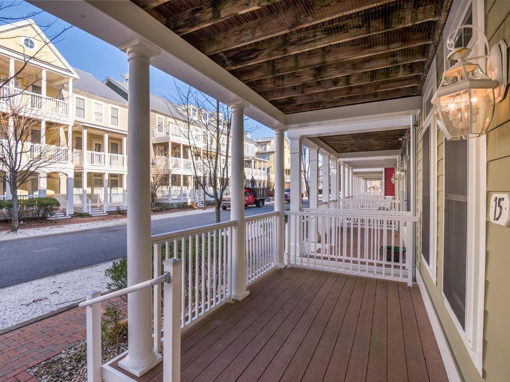 Sunset Island, 15 Beach Walk Lane - Front Porch