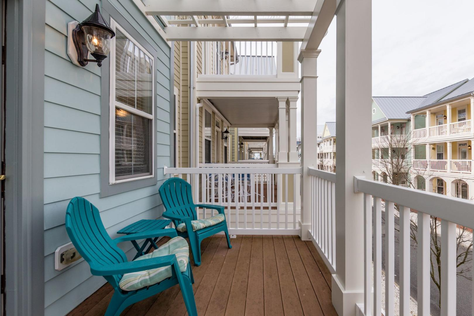 Sunset Island 35 Seaside Dr. - 2nd Floor Balcony