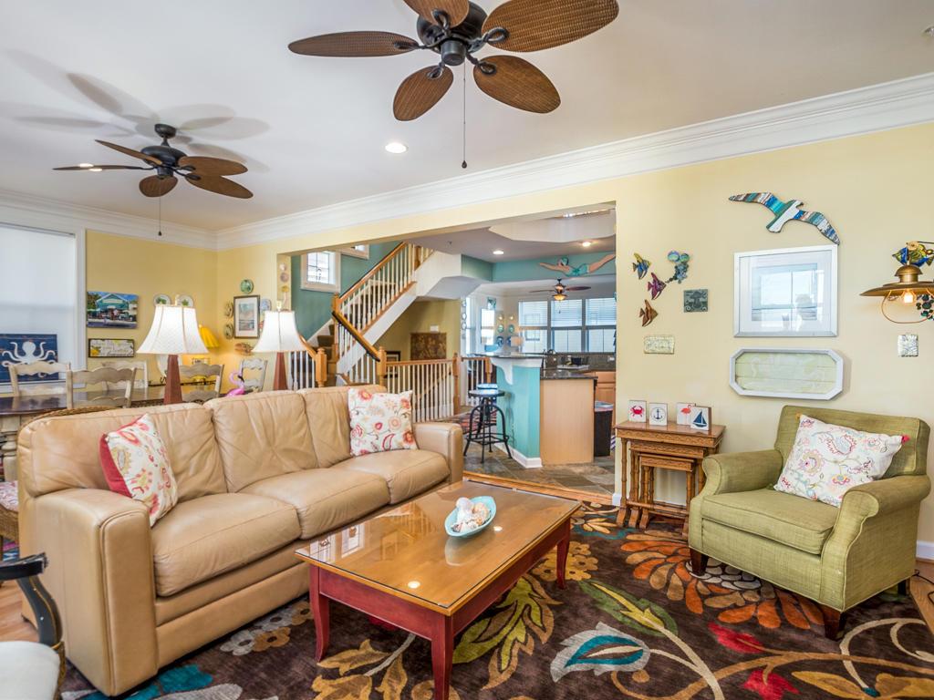Sunset Island, 51 Sunset Island Drive - Living Room
