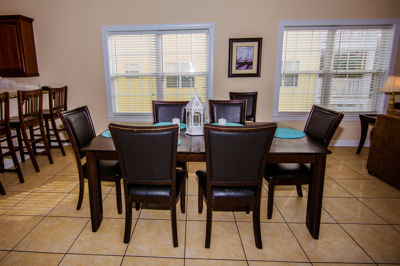 Ocean Breeze Cottage - 2nd Floor Dining Area