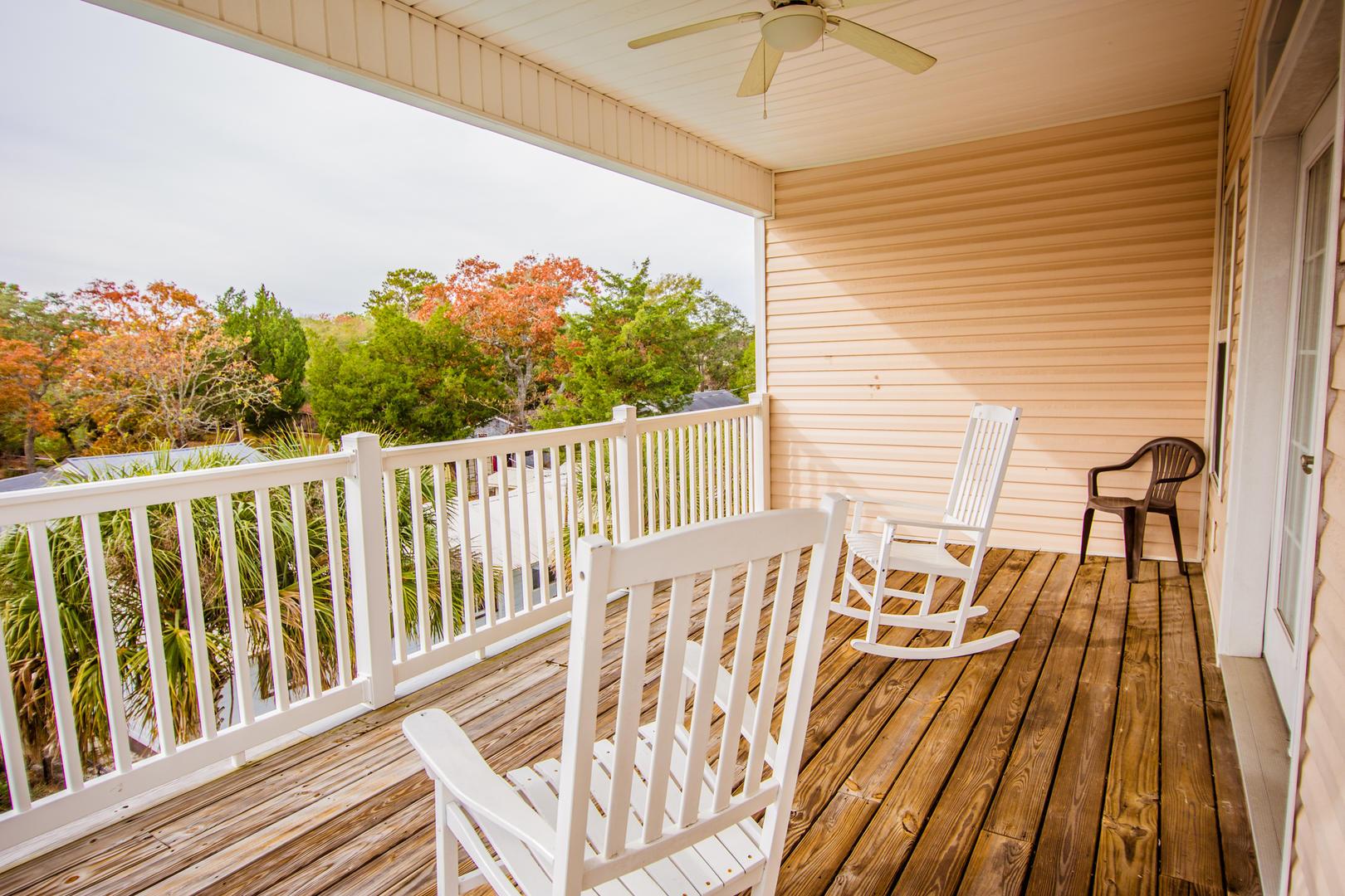 Ocean Breeze Cottage - 3rd Floor Balcony