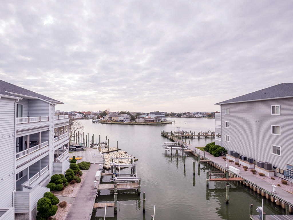 Harbour Towne 301D - Balcony with Water Views