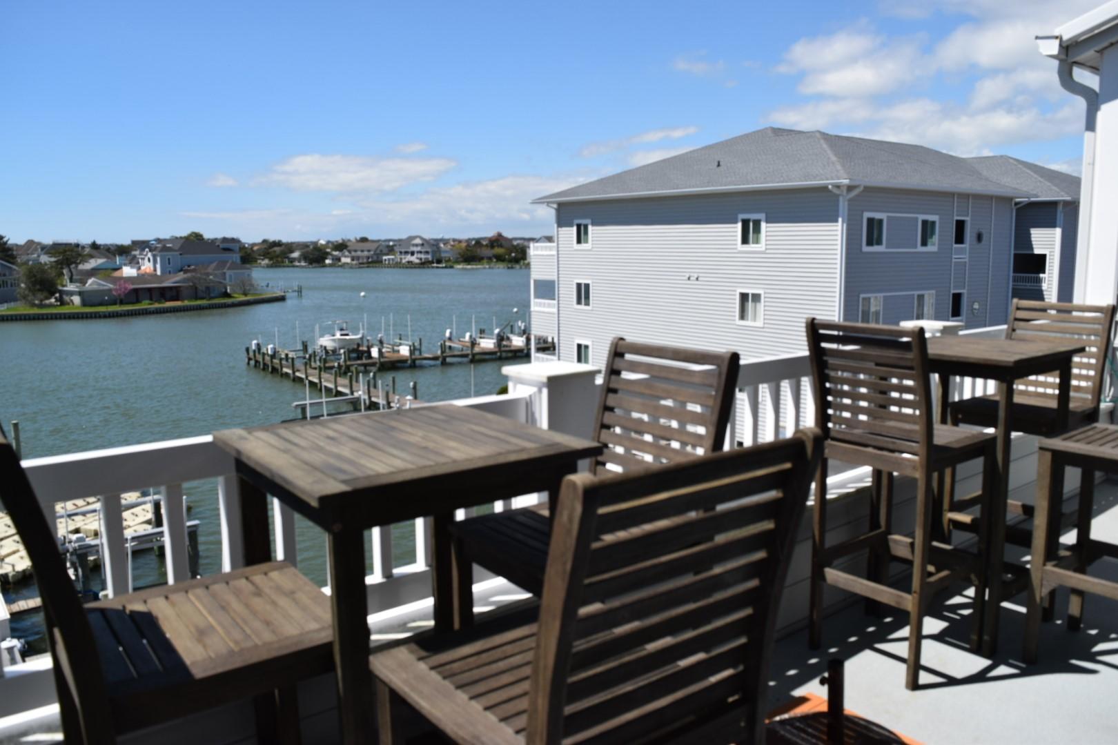 Harbour Towne 301D Balcony