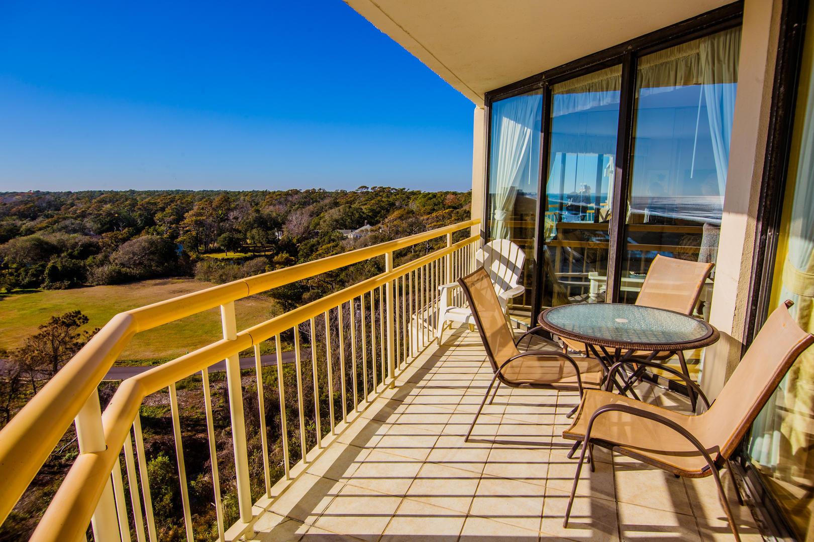 Ocean Creek NN9 - Balcony with Ocean View