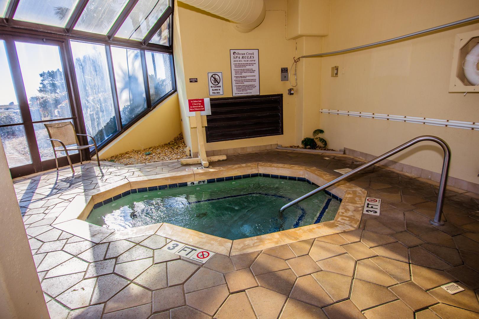 Ocean Creek NN9 - South Tower Hot Tub