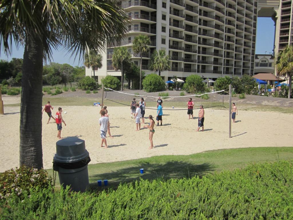 Ocean Creek Volleyball Area