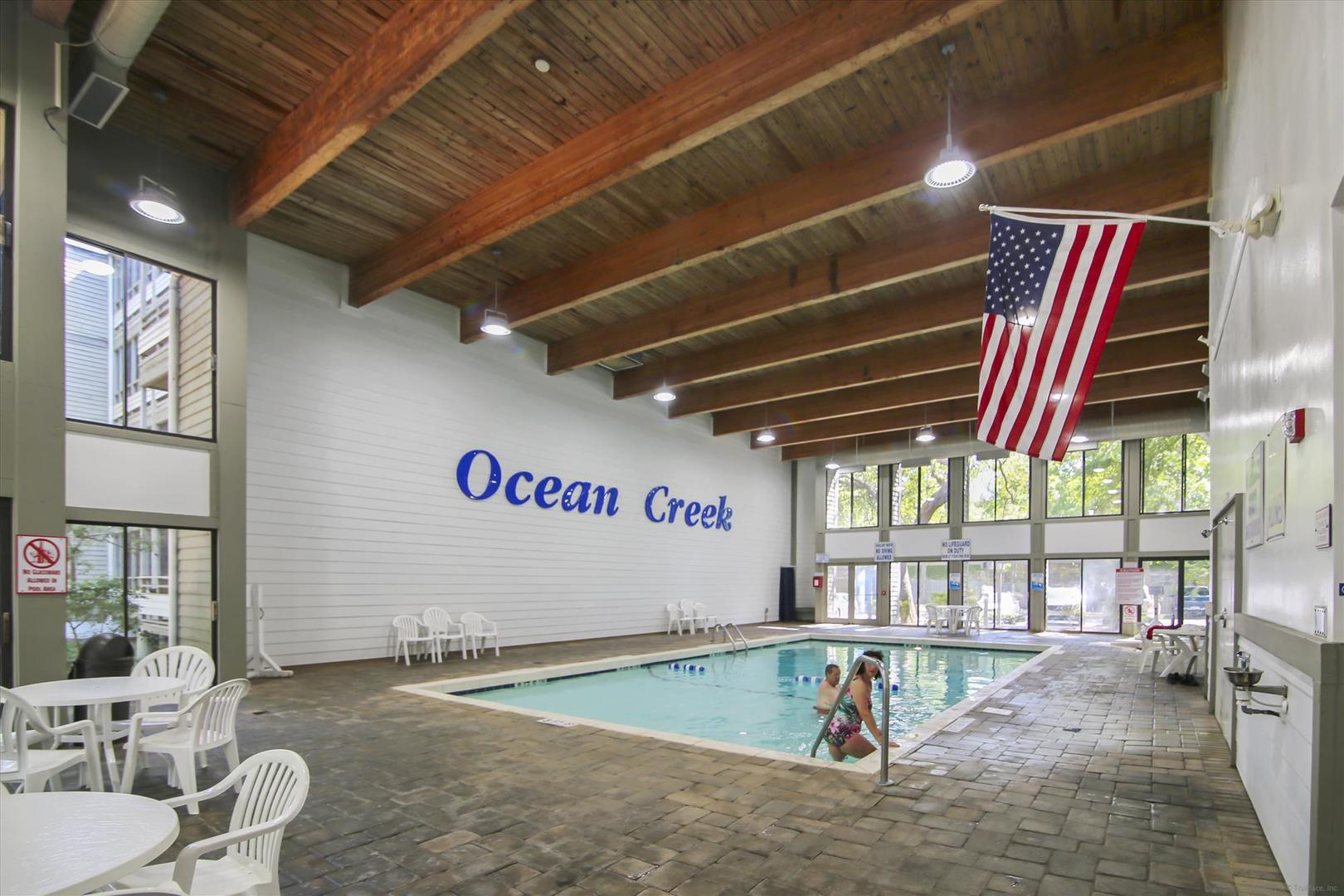 Ocean Creek Lodge Indoor Pool