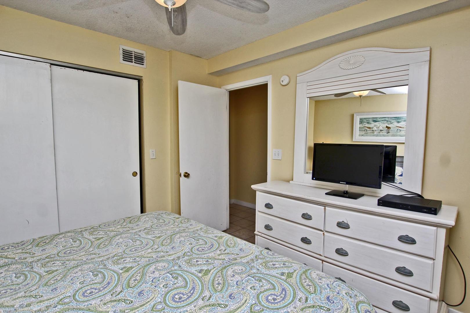 Closet and Dresser Space