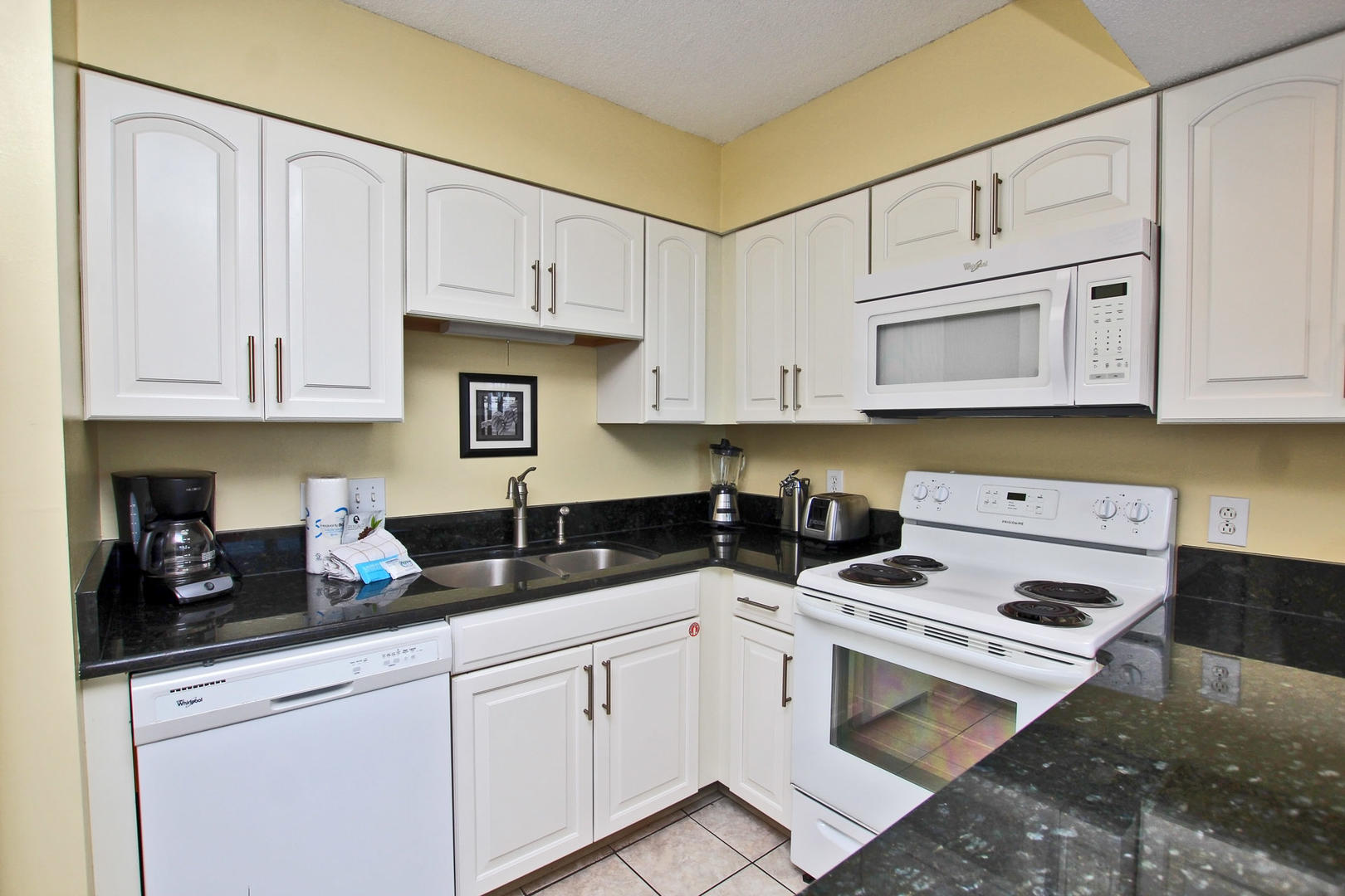 Updated with Granite Counter Tops