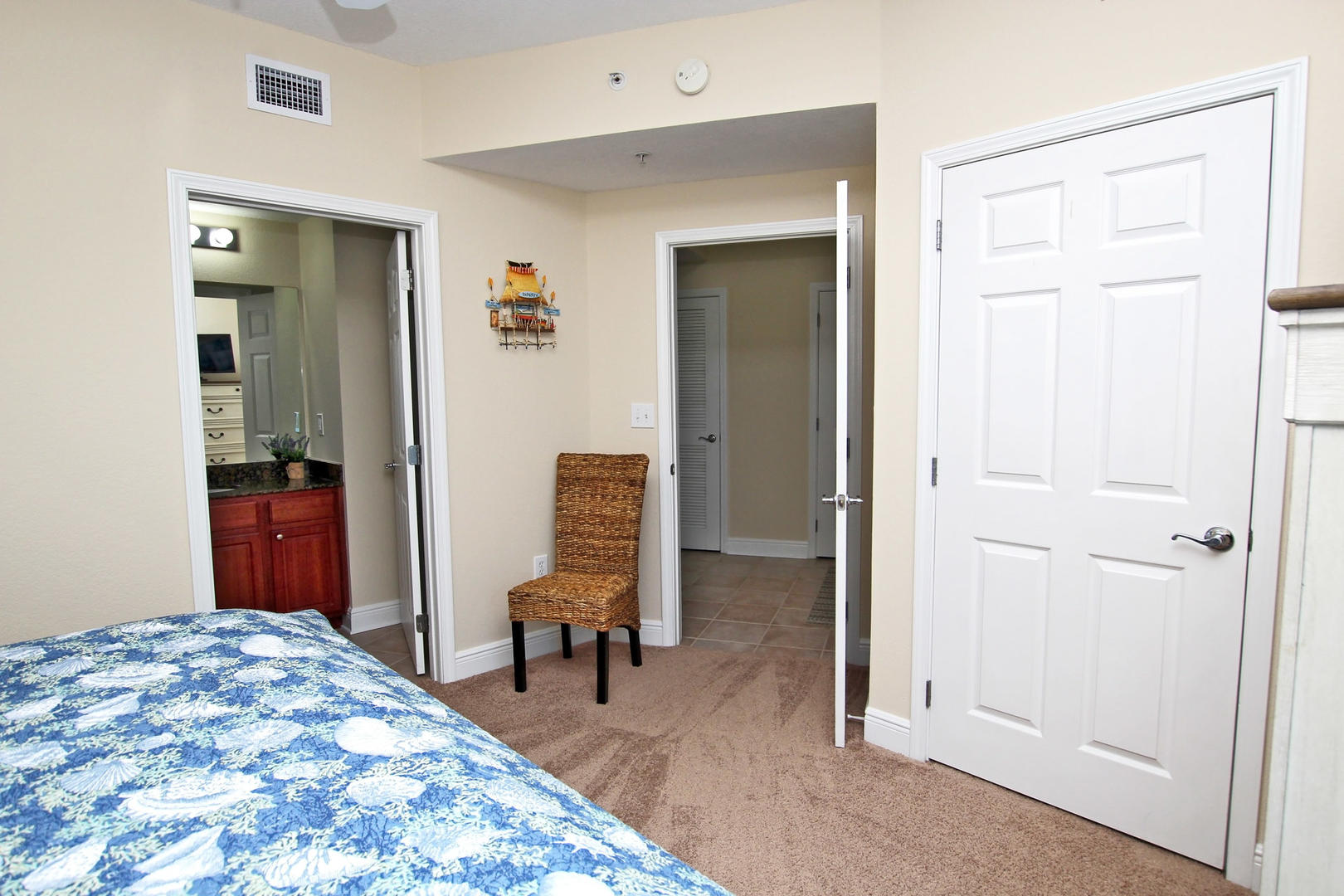Access to the Hallway Bathroom